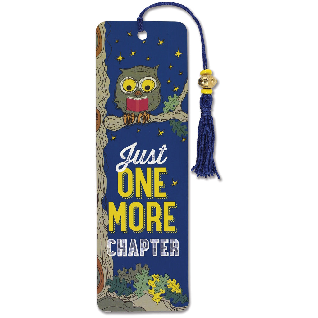 Just One More Chapter Bookmark