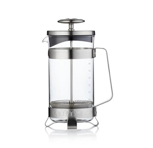 Barista & Co. 8 Cups Coffee Press - Electric Steel