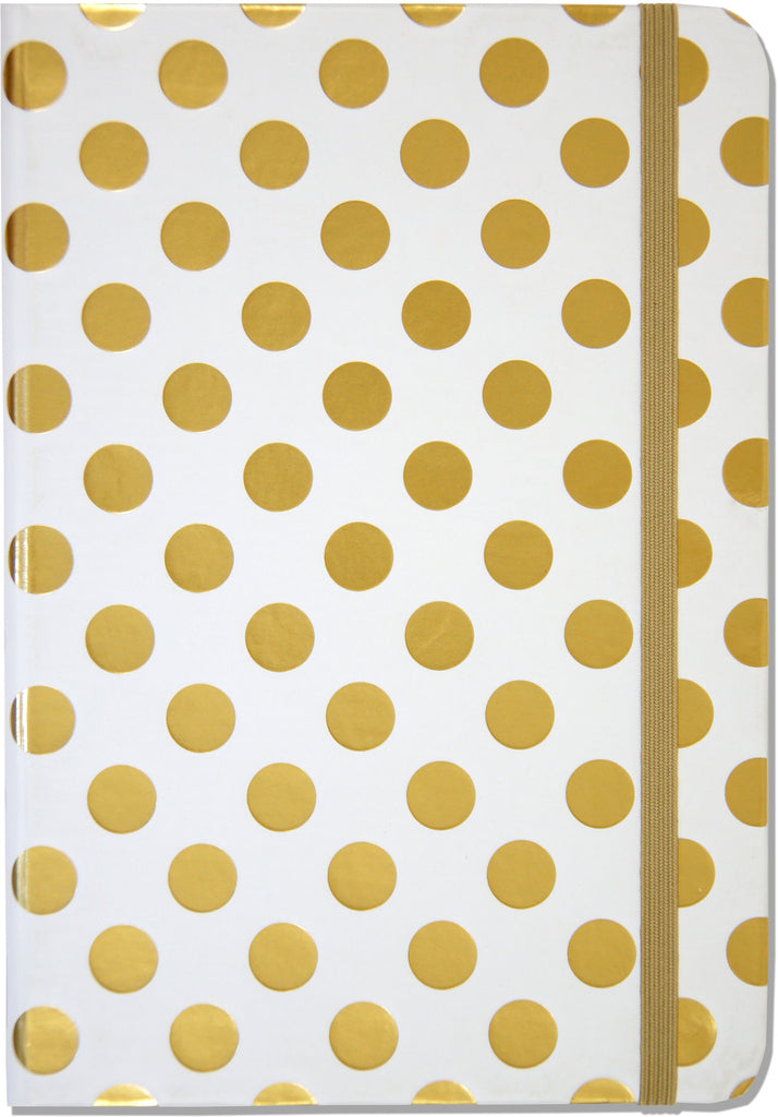 Gold Dots Journal - Small