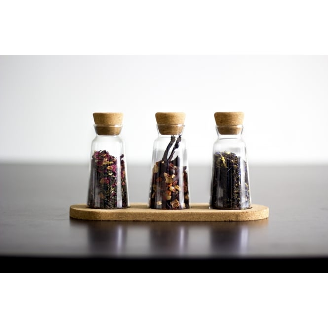 Cortica Selection Loose Tea Storage Jars - Cork