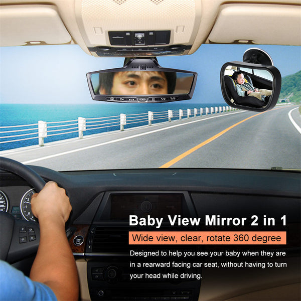 Safety Baby View Mirror