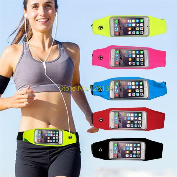Universal Phone Running Waist Belt