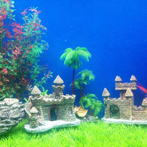 Castle Aquariums Decoration