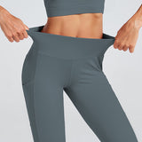 Fitness workout high waist leggings - Team scrunch - Squat proof - 6 colors