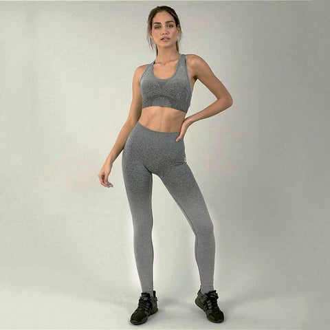 Fitness workout leggings - Horizon grey - Squat proof - High waisted