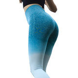 Fitness workout leggings - Horizon blue - Squat proof - High waisted