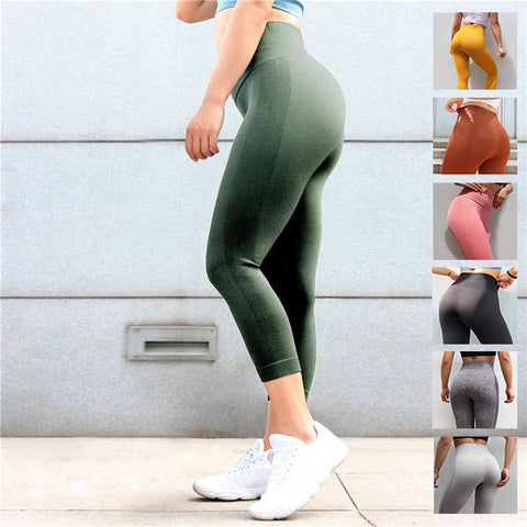Fitness seamless leggings - Bubble - Squat proof - 7 colors - XS/L