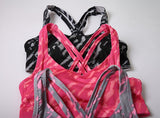 Fitness workout push up padded sports bra - Paint - Quick dry - 3 colors