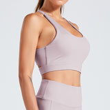 Fitness workout crop top - Breath - Shockproof - 5 colors