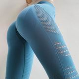 Fitness workout seamless high waist leggings - Seawave - Squat proof - 7 colors