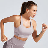 Fitness workout cropped top - Armour - Shockproof - 5 colors