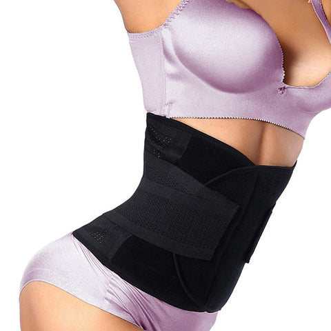 Fitness waist Trainer - New shape! - Slimming corset - Velcro strip