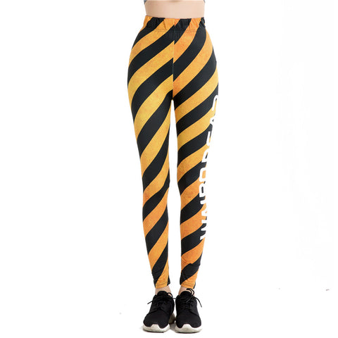 Fitness leggings - Yellow label - High waist
