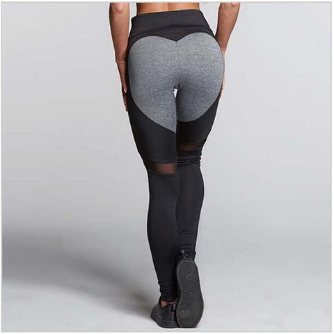 Fitness leggings - Heart workout - High waist - 2 colors