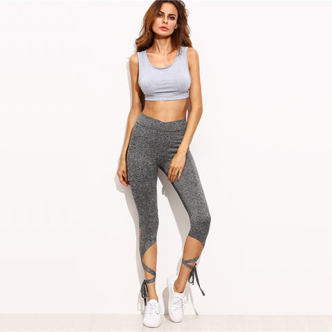 Fitness leggings - Dancer gray - High waist