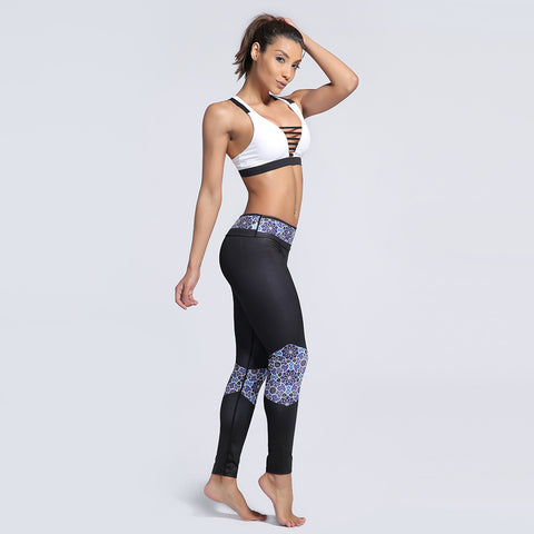 Fitness workout seamless leggings - Kaleydo - Squat proof - High waisted - S/XXXL