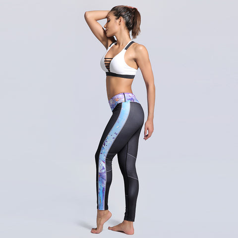 Fitness workout seamless leggings - Storm - Squat proof - High waisted - S/XXXL