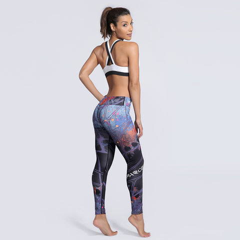 Fitness workout seamless leggings -  Apocalipse - Squat proof - High waisted - S/XXXL