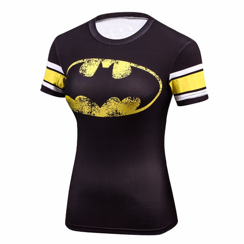 Fitness compression T-shirt - Batgirl