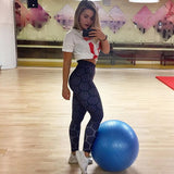 Fitness workout leggings - Nestey - High waist