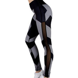 Fitness workout leggings - Print - High Waist