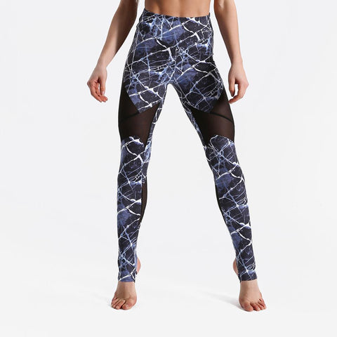 Fitness workout leggings - Storm mesh - Squat proof - High waist - XS/XL