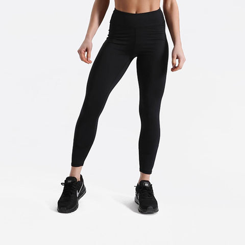 Fitness workout leggings - Shadow black - Squat proof - High waist - XS/XL