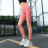Fitness workout leggings - Horizon orange - Squat proof - High waisted
