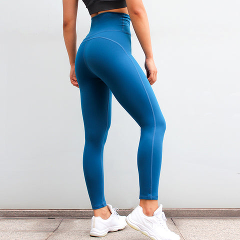 Fitness workout leggings - Crew blue - Squat proof