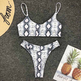 2019 New High Waist  Bikini set -