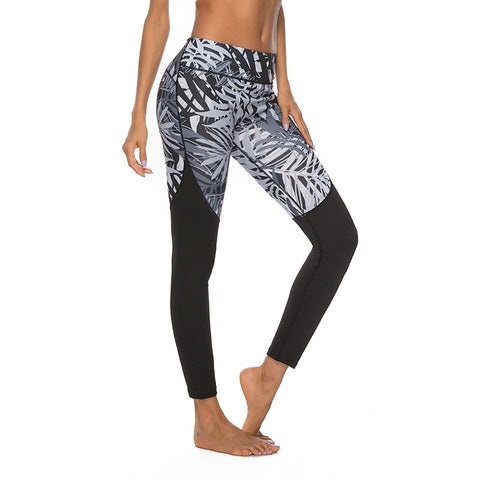 Workout leggings - Orphea black - High waist