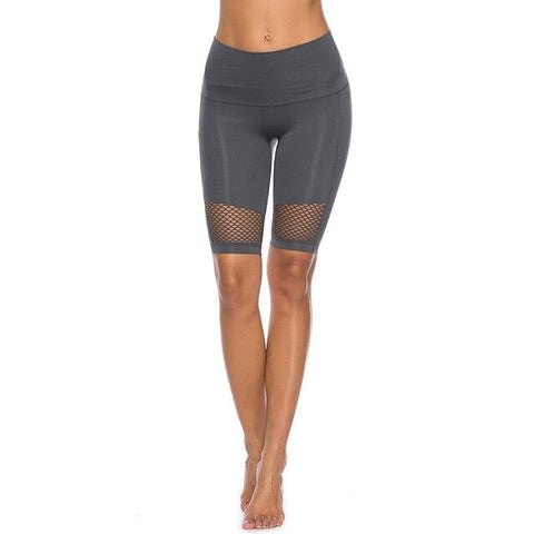 Fitness workout shorts - Key West - Mid waist - 4 colors