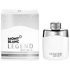 Mont Blanc Legend Spirit (White Bottle)