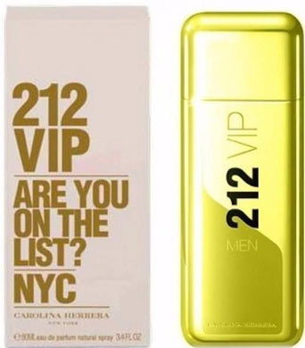 Carolina Herrera 212 VIP Men Are you on the List? NYC