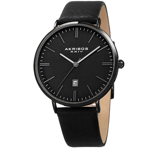 Akribos XXIV Men's Watch AK935BK