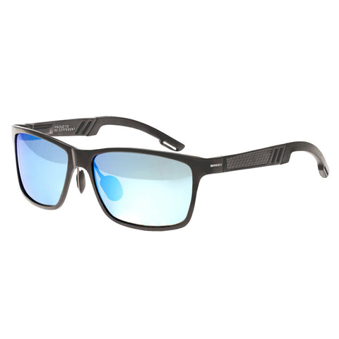 Breed Pyxis Titanium Polarized Sunglasses - Gunmetal/Blue