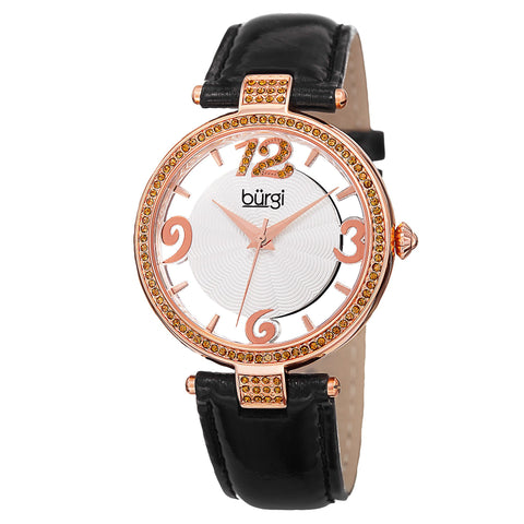 Burgi Women's Watch BUR150BKR