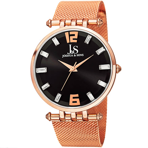 Joshua & Sons JS90RG Classic Stainless Steel And Sport Watches