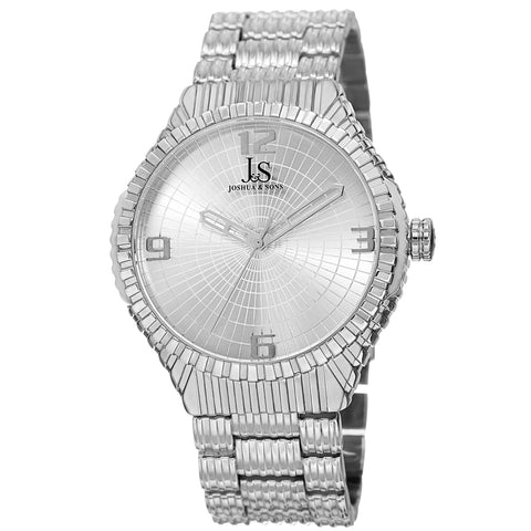 Joshua & Sons Women's Quartz Watch with Sunray Dial on Bracelet Watch JS99SS