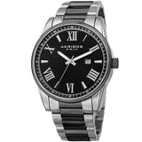 Akribos XXIV Men's Quartz Date Stainless Bracelet Watch AK936TTB