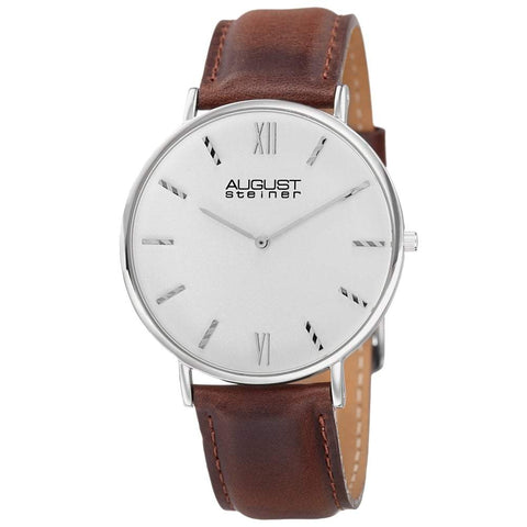 August Steiner Men's Watch AS8166SSBR
