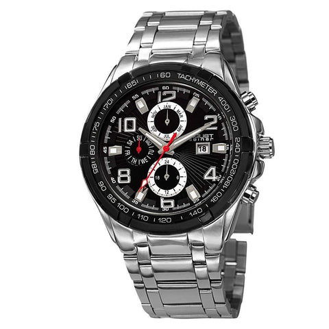 August Steiner Men's Watch AS8127SSB