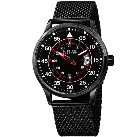 August Steiner Men's Watch AS8223BK