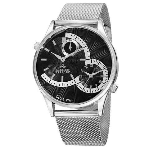 August Steiner Men's Watch AS8168SSB