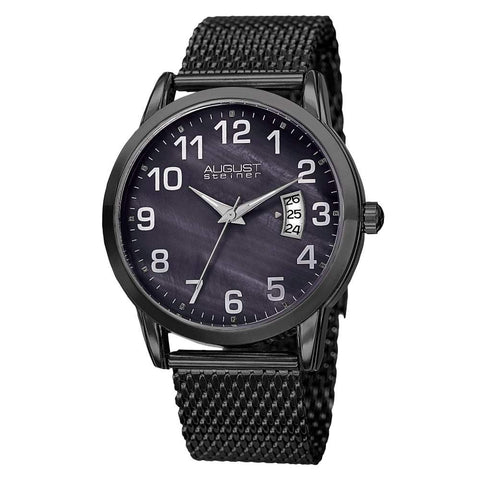 August Steiner Men's Watch AS8195BK