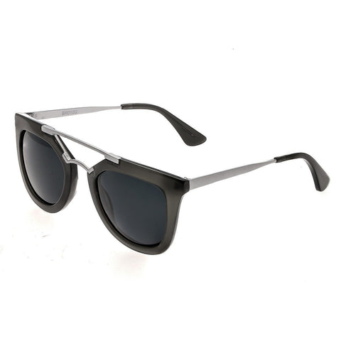 Bertha Ella Polarized Sunglasses - Grey/Black