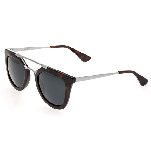 Bertha Ella Polarized Sunglasses - Black/Black