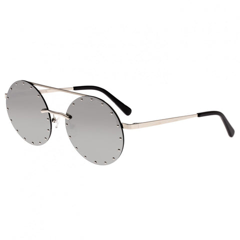 Bertha Harlow Polarized Sunglasses - Silver