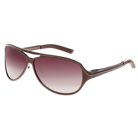 Breed Langston Aluminium Polarized Sunglasses - Brown/Brown