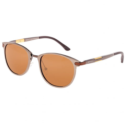 Breed Orion Aluminium Polarized Sunglasses - Brown/Brown